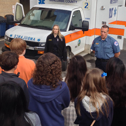 Buncombe County EMS Students@Work Week