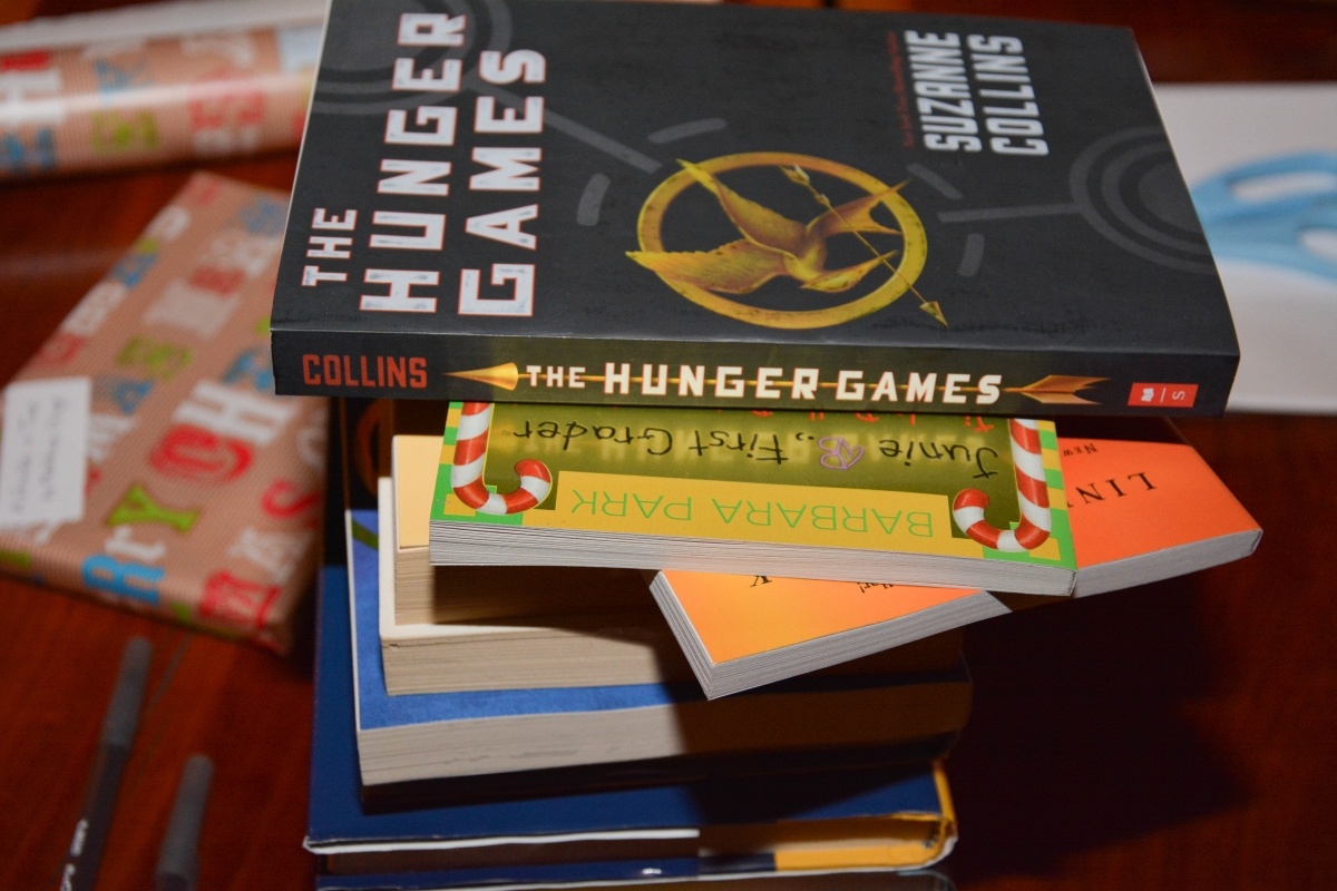 Hunger Games Asheville Gift Drive Middle School