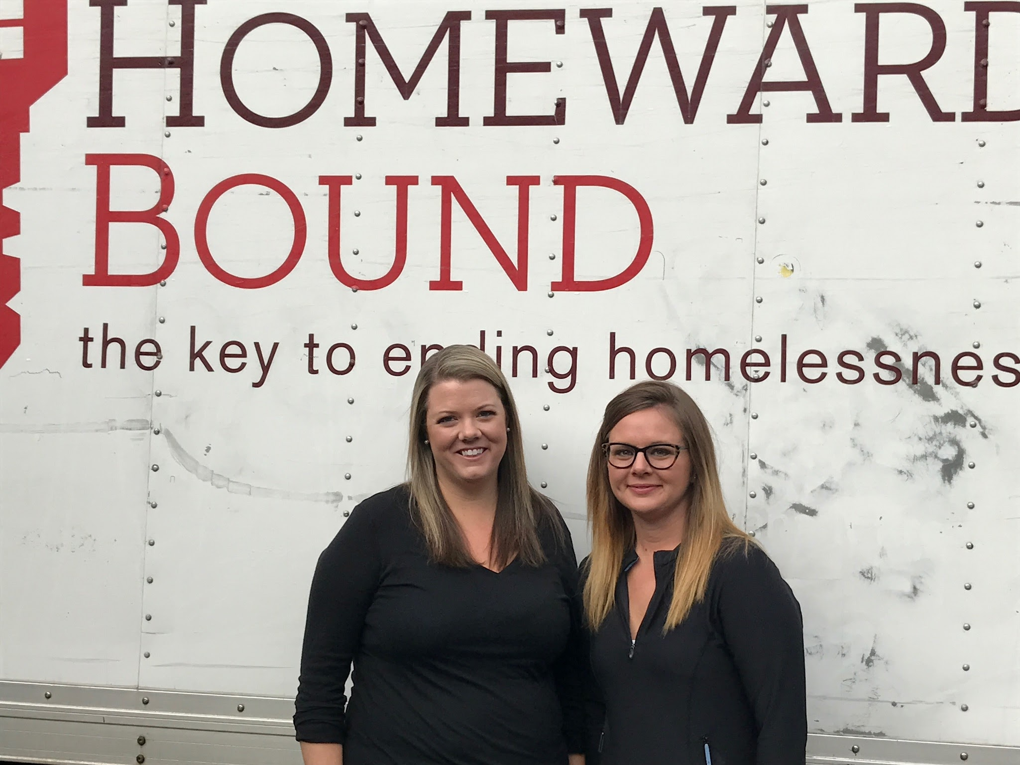 Employees from BB&T helped move a family into a permanent home through Homeward Bound