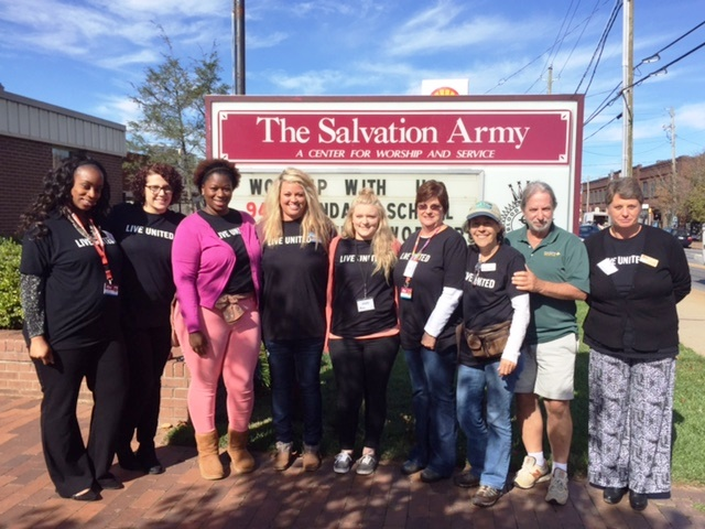 Nothing sweeter than the team from Green Mountain Maple and AB Tech joining forces at the Salvation Army