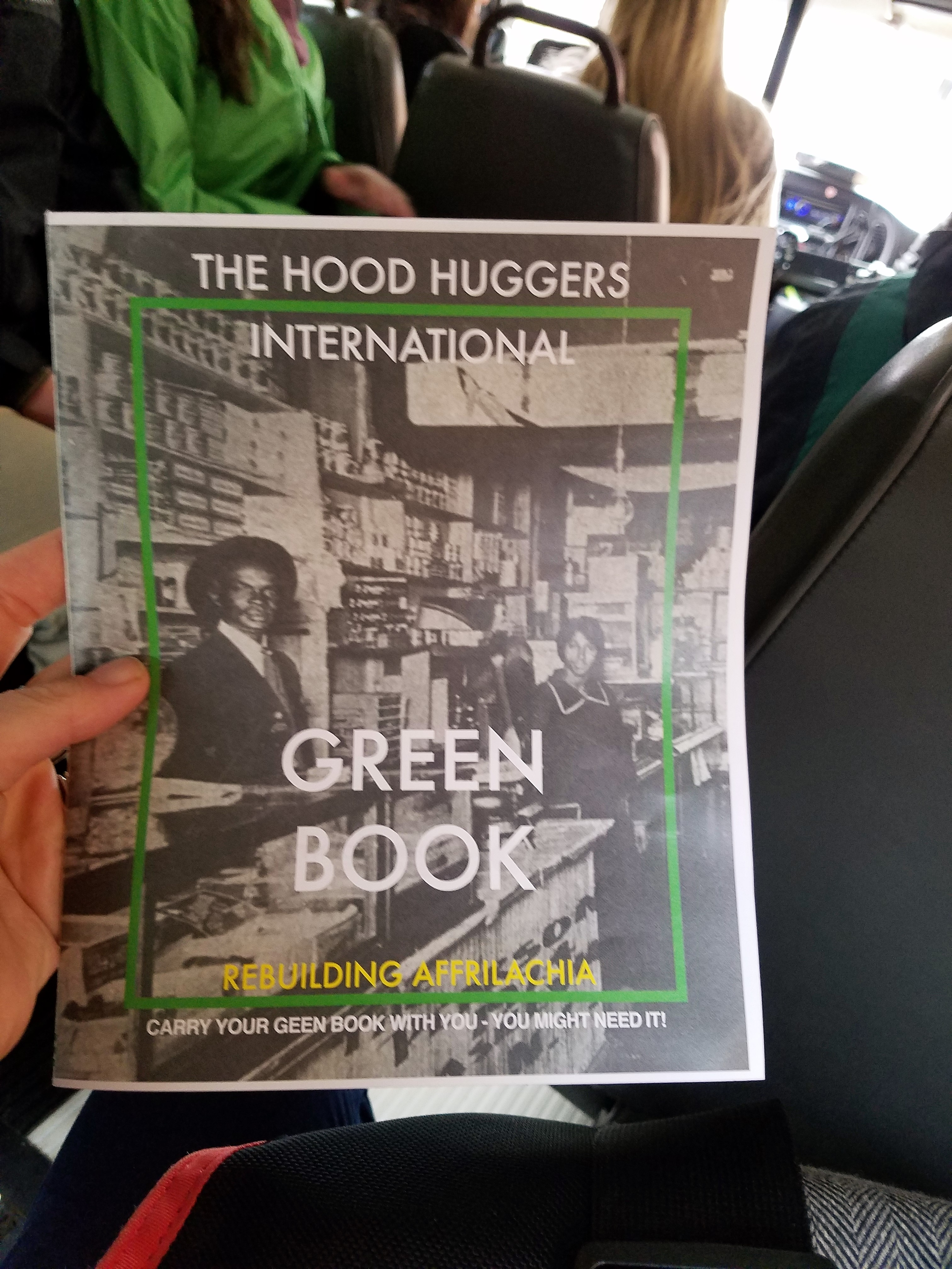 The Hood Huggers International Green Book was created to highlight African American-owned organizations and businesses.